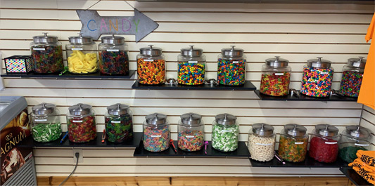 Kiefer Campground Candy Store