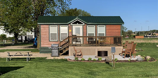 Madison Campground Cabins